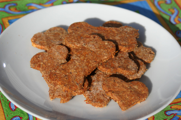 Beef Pup Pie Dog Biscuits by The Handmade Hound